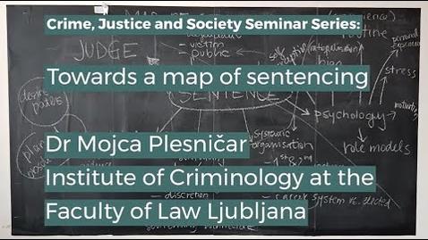 Thumbnail for entry CJS Seminar   Mojca Plesnicar