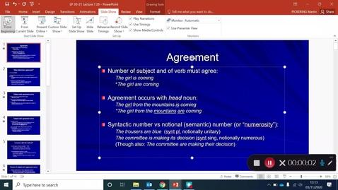 Thumbnail for entry Language Production Lecture 7 Part 20
