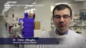 Thumbnail for entry Omar Albagha -Genetics of Bone Disease -Research In A Nutshell- MRC Institute of Genetic and Molecular Medicine-06/05/2014