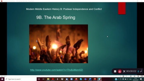 Thumbnail for entry 9B Arab Spring part 1