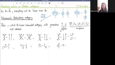 Thumbnail for entry 2 June 2021 Jonathan Brundan - Heisenberg actions on Abelian categories
