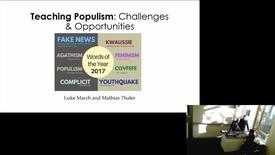 Thumbnail for entry 8 February 2019 — Luke March and Mathias Thaler (University of Edinburgh)