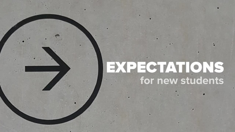 Thumbnail for entry Expectations