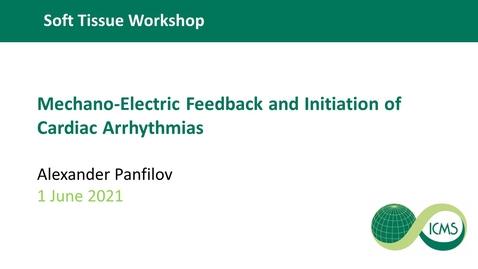 Thumbnail for entry Mechano-Electric Feedback and Initiation of Cardiac Arrhythmias - Alexander Panfilov