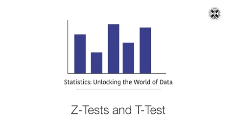 Thumbnail for entry Statistics - Z-Tests and T-Test
