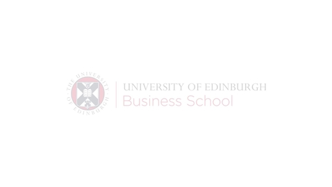 Thumbnail for entry Making a change at the University of Edinburgh Business School