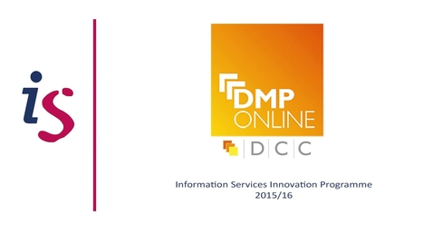 Thumbnail for entry DMPonline: an international tool