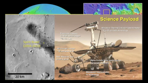 Thumbnail for entry  Steve Ruff - LESSONS FROM HOT SPRINGS ON EARTH APPLIED TO THE SEARCH FOR TRACES FOR LIFE ON MARS
