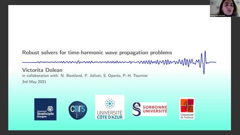 Thumbnail for entry 3 May - Victorita Dolean (University of Strathclyde, Glasgow) - Robust solvers for time-harmonic wave propagation problems