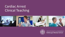 Thumbnail for entry Cardiac Arrest Team - Practical Demo