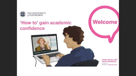 Thumbnail for entry (UG and PGT) How to gain academic confidence