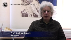 Thumbnail for entry Andrew Ranicki- Mathematics- Research In A Nutshell - School of Mathematics -08/11/2012