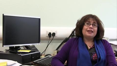 Thumbnail for entry Professor Sarah Pedersen