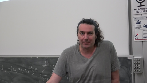 Thumbnail for entry Amplitudes Summer School 2017 - John Joseph Carrasco: Graphical Methods for Sharp Prediction: from theories entirely formal to the utterly effective - lecture 1