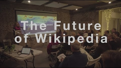 Thumbnail for entry The Future of Wikipedia with Katherine Maher | Wikimedia UK