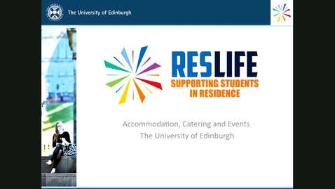 Thumbnail for entry PG How to get support in University accommodation
