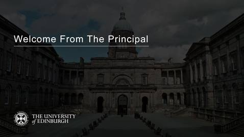 Thumbnail for entry Welcome From The Principal - Peter Mathieson (2020)