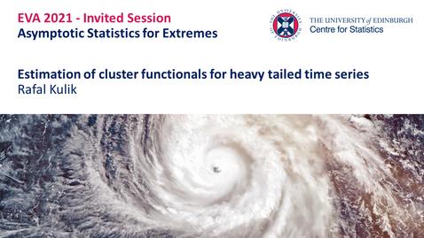 Thumbnail for entry Asymptotic Statistics for Extremes: Rafal Kulik