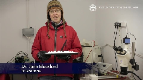 Thumbnail for entry Jane Blackford: Ice and snow mechanics