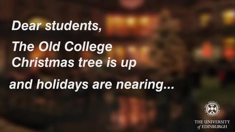 Thumbnail for entry Alumni exam wishes