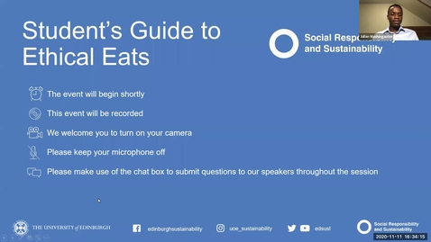 Thumbnail for entry Student's guide to ethical eats