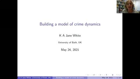 Thumbnail for entry UK-APASI in Mathematical Sciences - Jane White