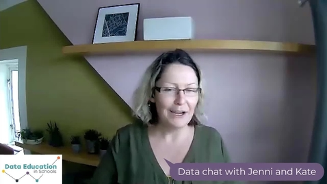 Thumbnail for entry Data Chat with Jenni and Kate - Tune Into Data