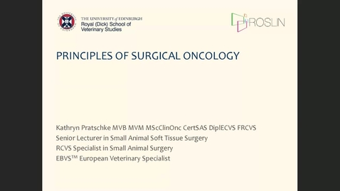 Thumbnail for entry 7th July Clinical Club - Principles of surgical oncology - Kathryn Pratschke