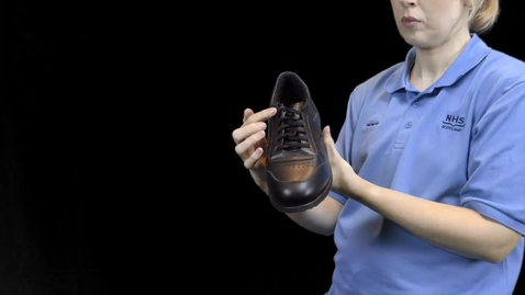 Thumbnail for entry Footwear advice
