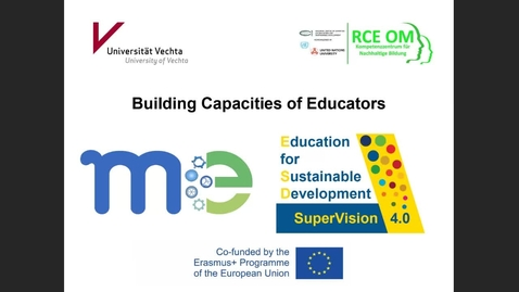 Thumbnail for entry RCE Global Webinar 04 Feb 2021 - Part Three - Breakout sessions: 3: Building capacities of educators
