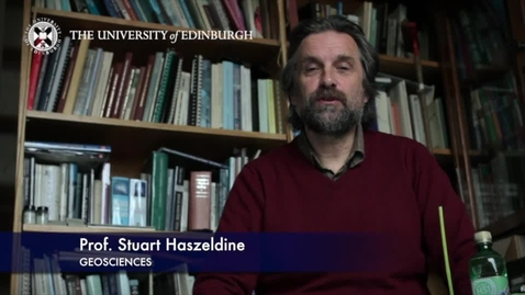 Thumbnail for entry Stuart Haszeldine - Geoscience- Research In A Nutshell - School of GeoSciences -16/11/2012