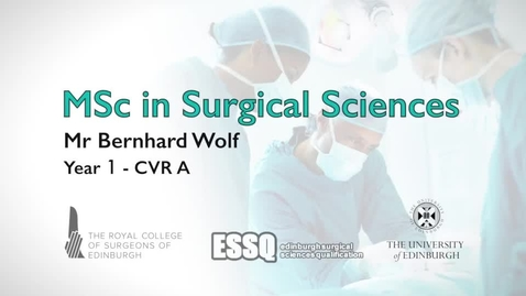 Thumbnail for entry yr1 cvra science intro bernhard wolf