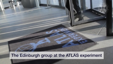 Thumbnail for entry Higgs Boson - The Edinburgh group at the ATLAS experiment