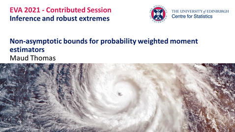 Thumbnail for entry Inference and Robust Extremes: Maud Thomas