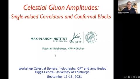 Thumbnail for entry Stephan Stieberger - Celestial Gluon Amplitudes: Single-valued Correlators and Conformal Blocks (Celestial Sphere: holography, CFT and amplitudes)