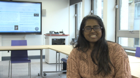 Thumbnail for entry Wikipedia and Law - Interview with Law undergraduate student, Jemima John