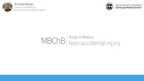 Thumbnail for entry Paediatric orthopaedics: Non-Accidental Injury