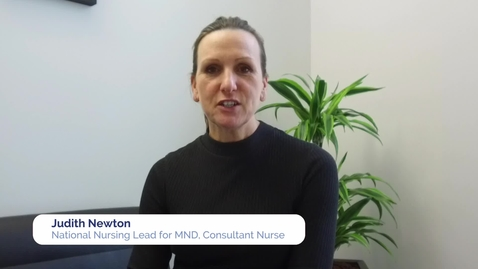 Thumbnail for entry CARE-MND research project: Judy Newton