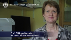 Thumbnail for entry Philippa Saunders-MRC Centre for Reproductive Health - Research In A Nutshell - Queen's Medical Research Institute -11/07/2012