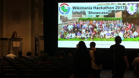 Thumbnail for entry Wikimania 2017 - Hackathon Showcase