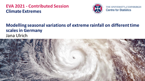 Thumbnail for entry Climate Extremes: Jana Ulrich
