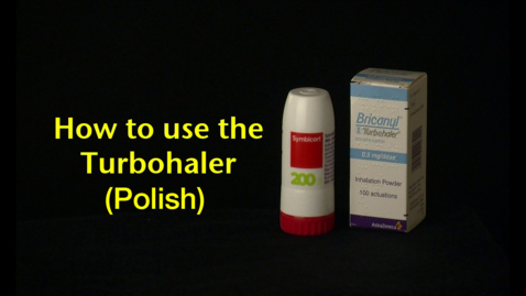 Thumbnail for entry How to use the Turbohaler (Polish)