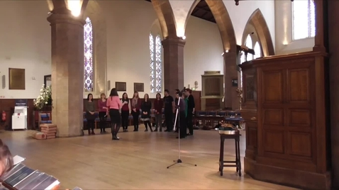 Thumbnail for entry Revelation Rock Gospel Choir Singing at the 2014 University Service