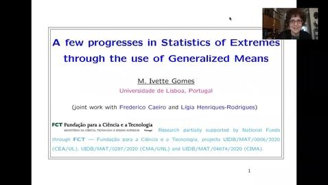 Thumbnail for entry Maria Ivette Gomes EVA Talk Preview