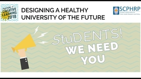 Thumbnail for entry Designing a Healthy University of the Future
