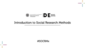 Thumbnail for entry 0.1 Introduction to Social Research Methods