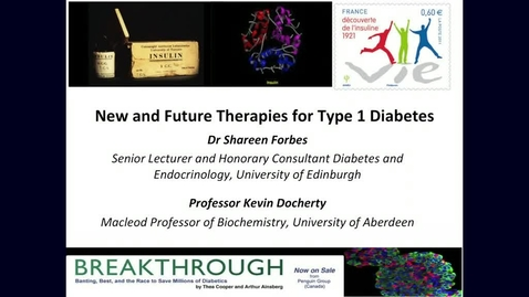 Thumbnail for entry New and future diabetes therapies