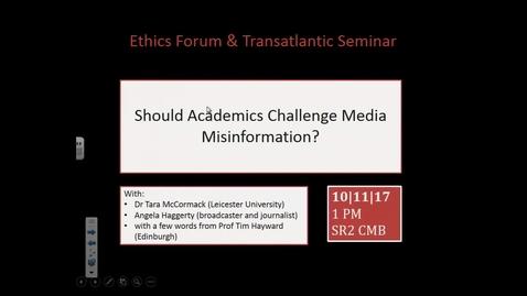 Thumbnail for entry 3 Nov 2017 — Andy Hom (University of Edinburgh)