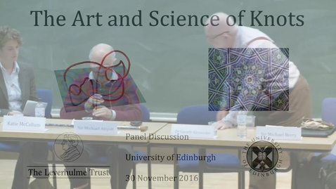 Thumbnail for entry The Art and Science of Knots: 3. Michael Atiyah