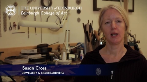 Thumbnail for entry Susan Cross: Drawing & Making